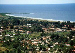 タンザニア風景海岸線