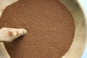 カフェアフリカ・バラカのコーヒーパウダー
